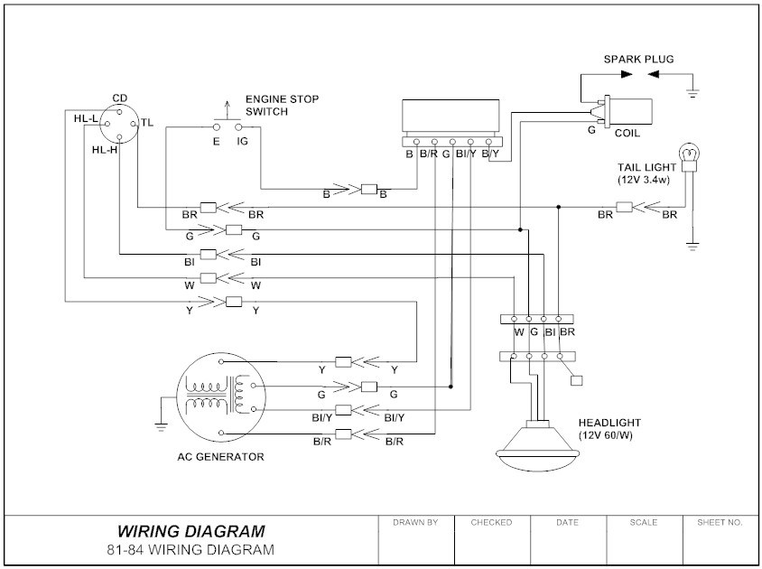 Wiring Diagram Example on 3126 Cat Engine Electrical Diagram